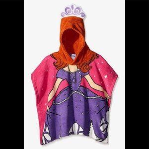 Disney Girls Sofia the First Royal Plush Poncho